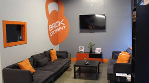 brick lobby